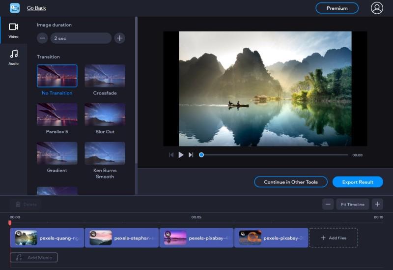split screen video editor fastreel