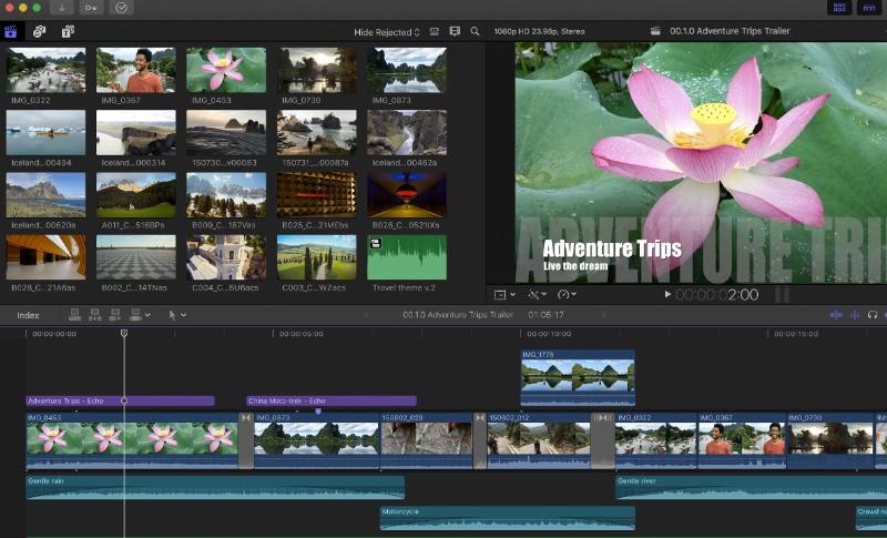 split screen video editor final cut pro