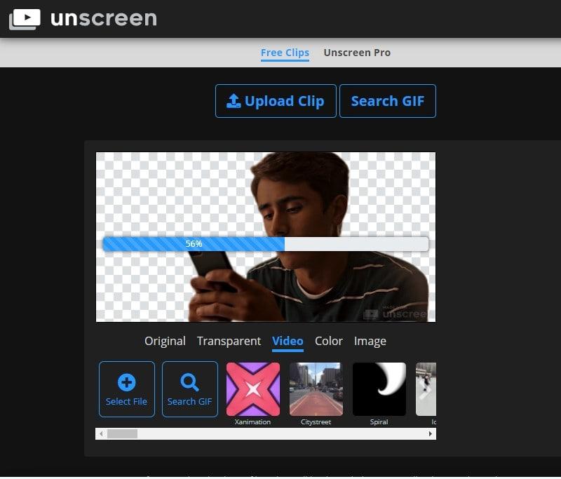 video background changer unscreen min