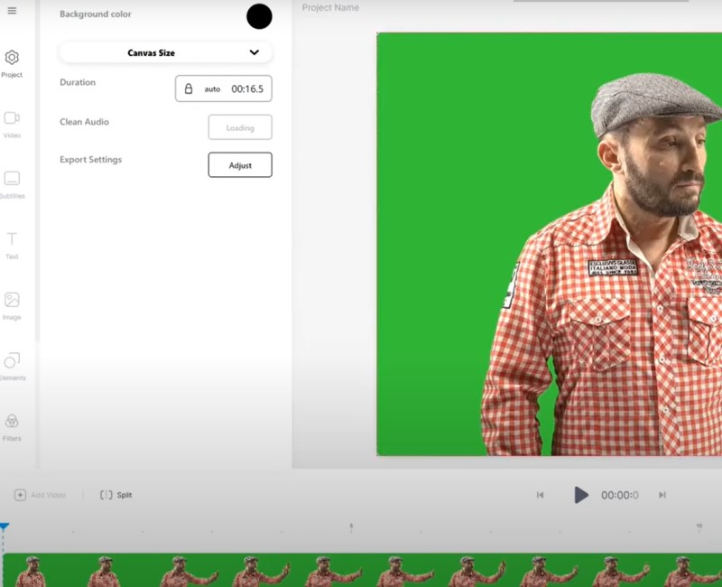 video background changer veedio