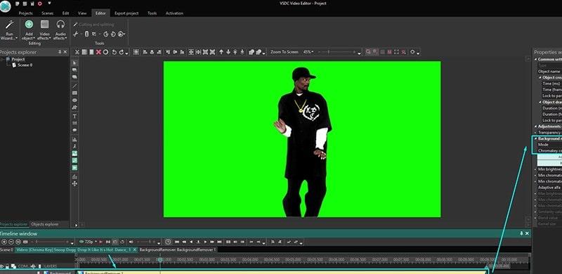 video background changer vsdc min