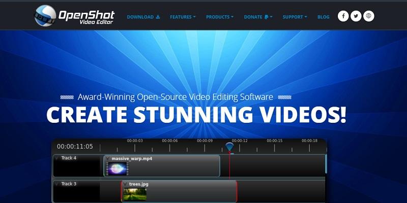 video editor chromebook openshot