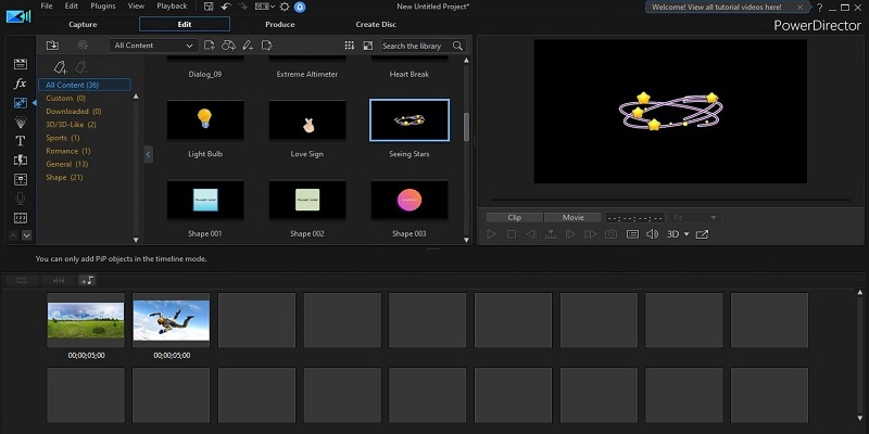 video editor chromebook powerdirector