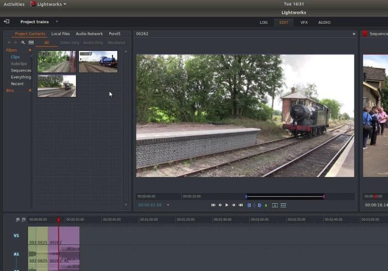 video editor for youtube lightworks