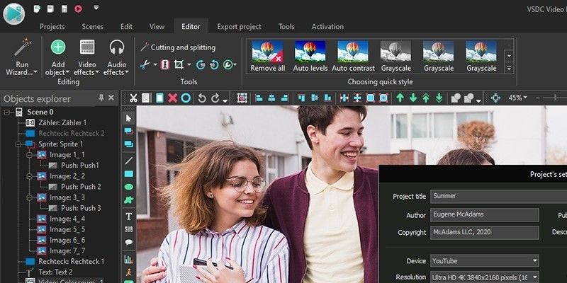 windows movie maker alternative vsdc
