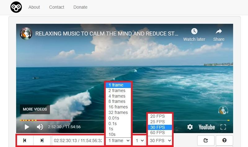 youtube frame by frame watchframebyframe