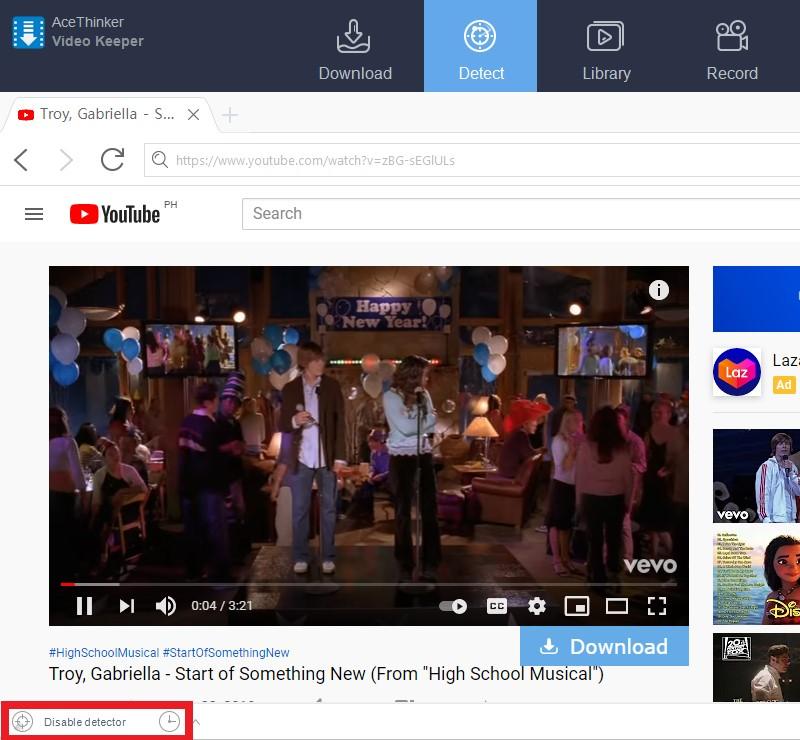 youtube recommendation broken ve detect enable