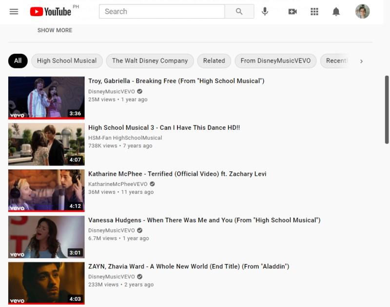 youtube recommendation broken video