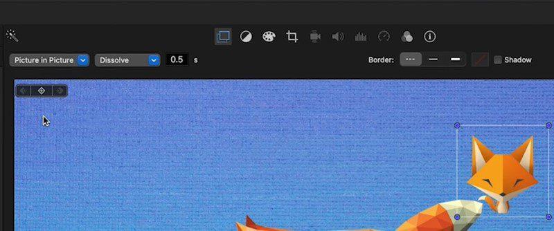 add watermark in imovie process