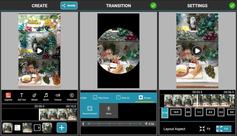best free slideshow maker picplaypost