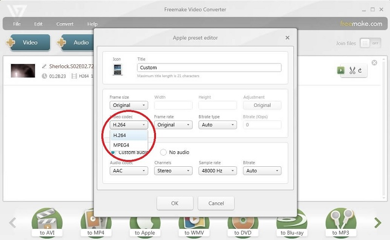 compress video for web freemake