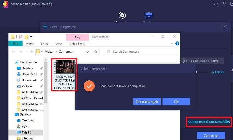 compress video for web vm step4