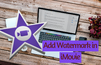 feature add watermark in imovie
