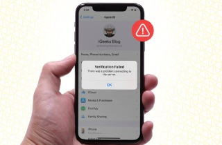 How to Fix Apple Verification Failed on iPhone