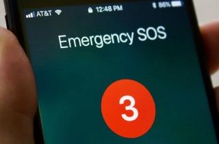 iPhone stuck on emergency SOS