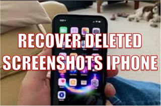 How to Recover Permanently Deleted Screenshots on iPhone