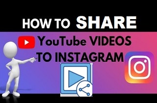 feature share youtube video on Instagram