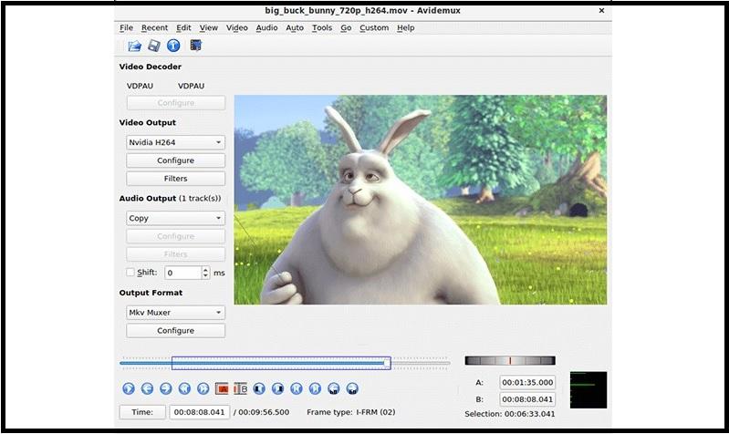 free mp4 editor avidemux