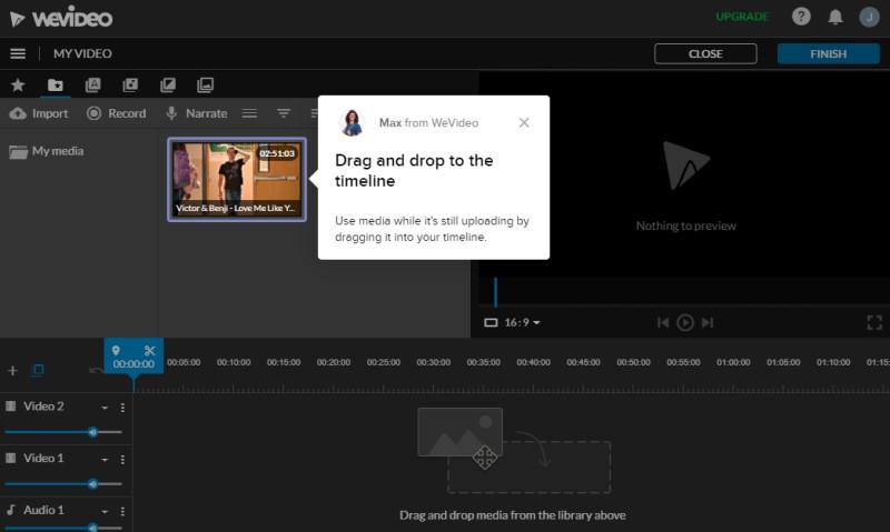 free mp4 editor wevideo