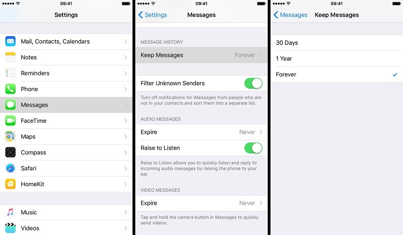 iMessage not delivered keep messages