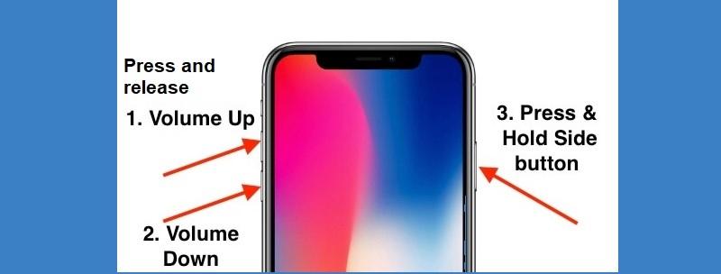 iphone stuck on loading screen iphone8 reset