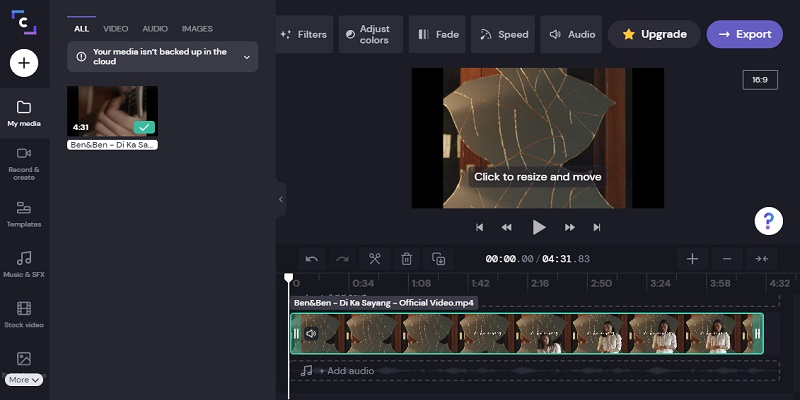 online video editor no download clipchamp