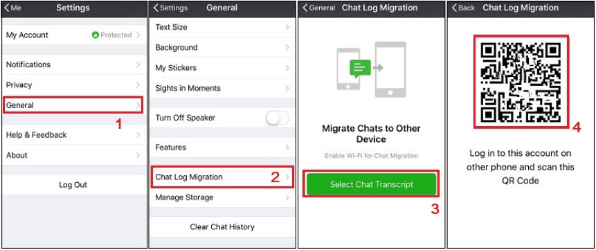 recover WeChat messages iPhone migration process