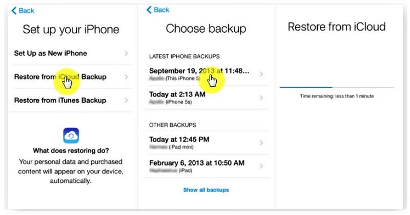 recover deleted notes on iphone icloud