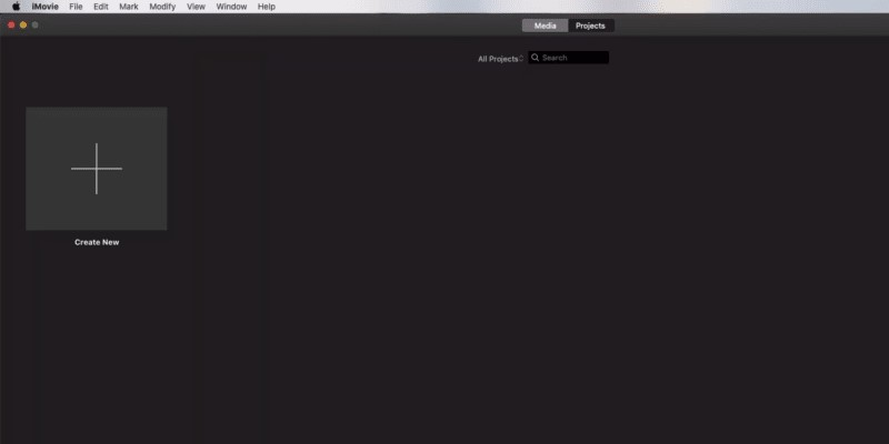 resize video in imovie interface