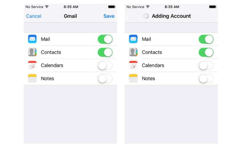 restore deleted contacts iphone step3 google contacts