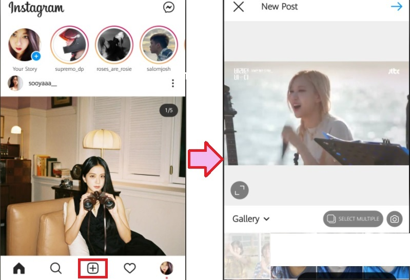 share youtube video on instagram access gallery