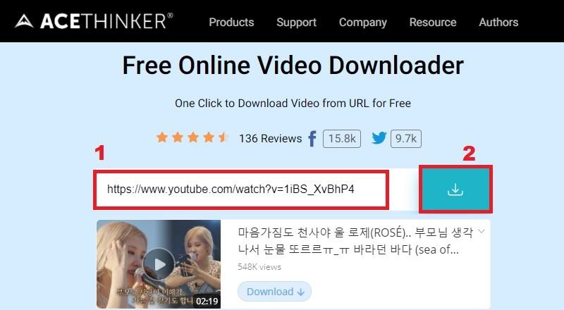 share youtube video on instagram online downloader step3