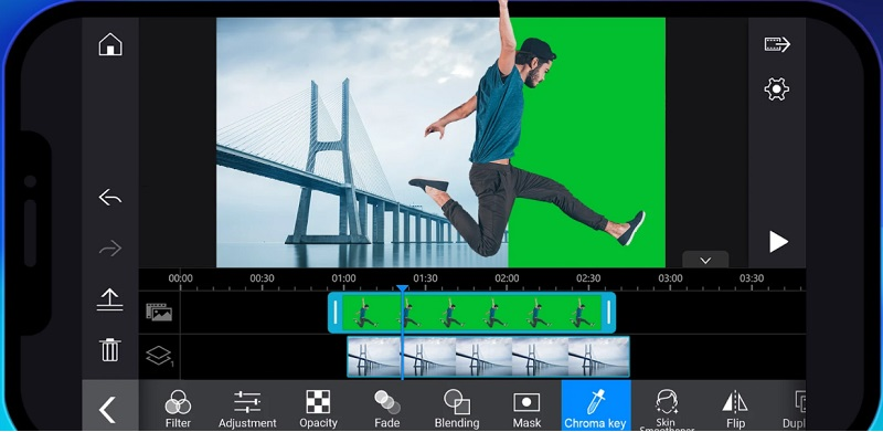 best free video editor for android powerdirector