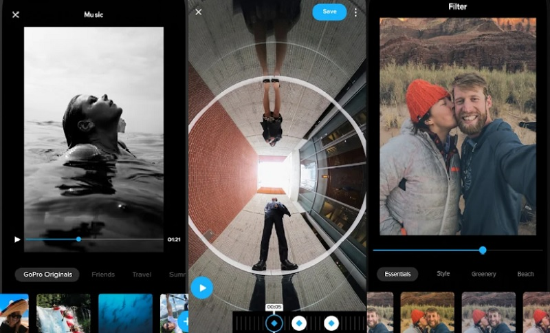 best free video editor for android quik