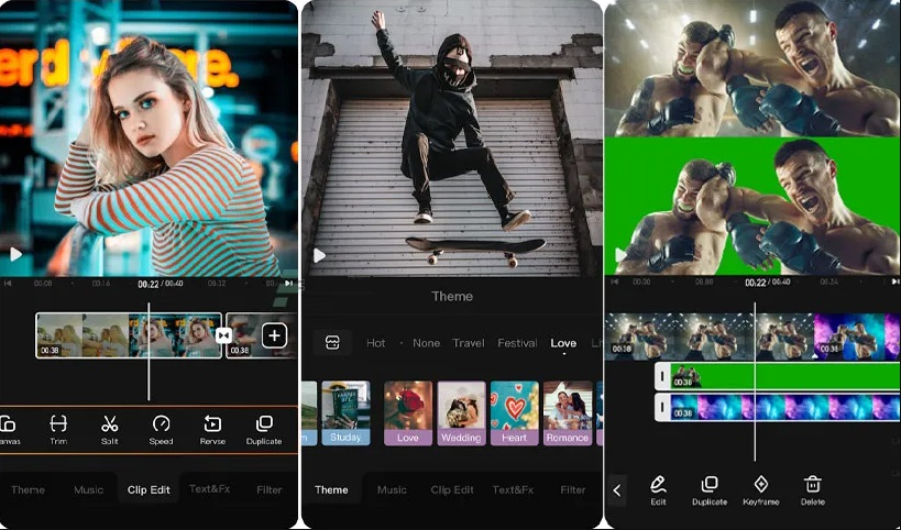 best free video editor for android viva video