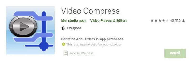 best video compressor for android video compress5