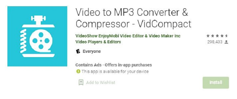 best video compressor for android video vidcompact3