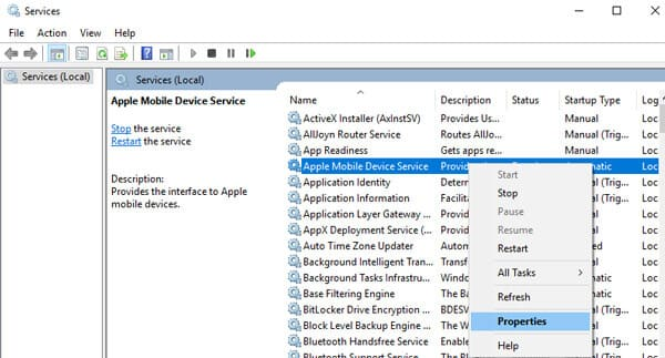cannot detect device check amds