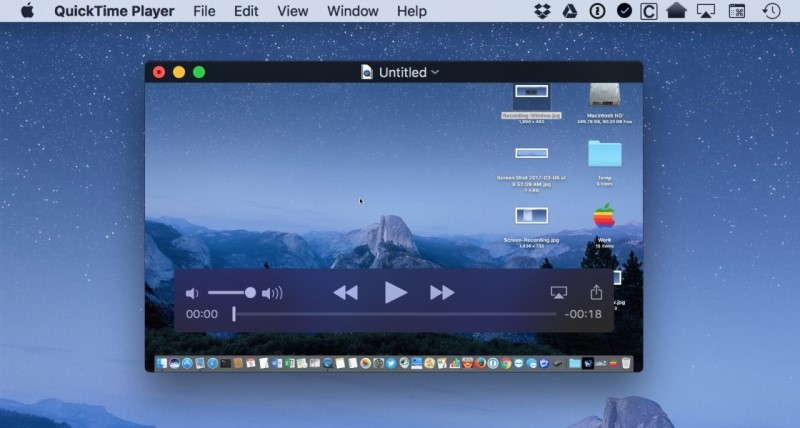compress video with quicktime interface