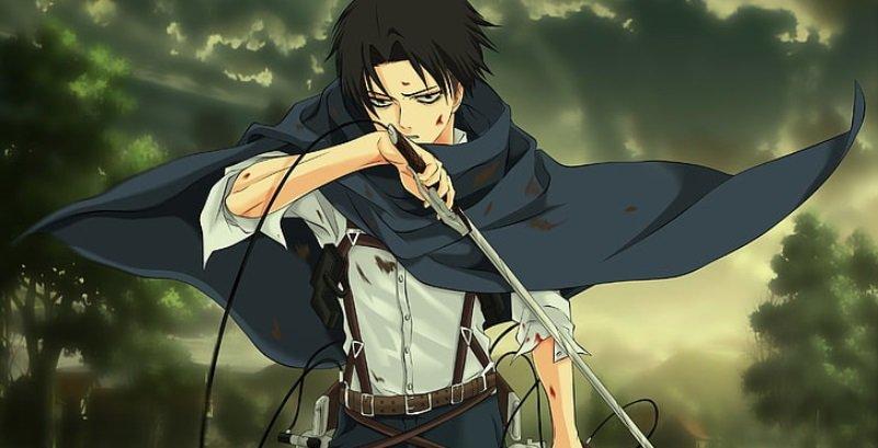 coolest anime characters captain levi