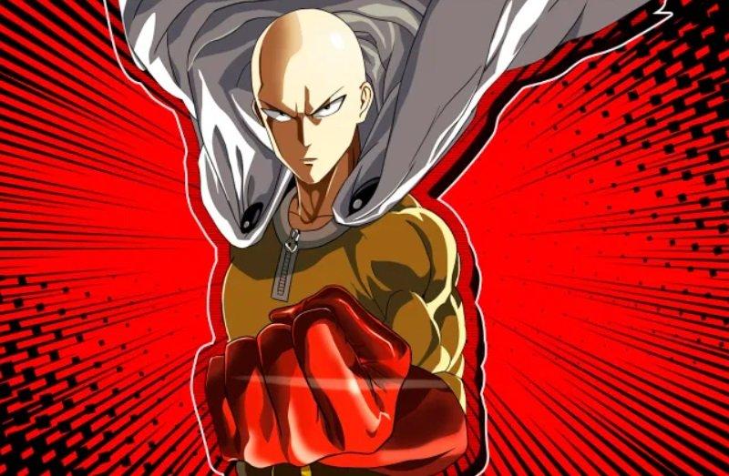 coolest anime characters saitama