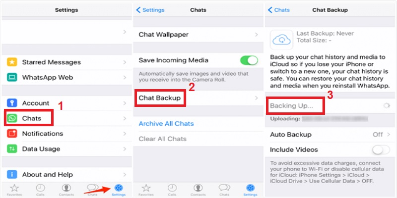 deleted whatsapp messages iphone way1