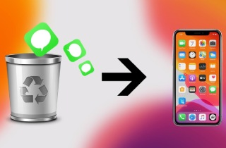 3 Most Effective Ways to Recover Deleted Text Messages on iPhone