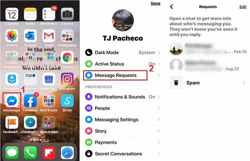 find hidden messages on iphone find hidden messages on facebook