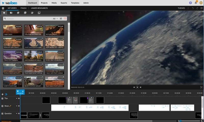 free edit video online wevideo
