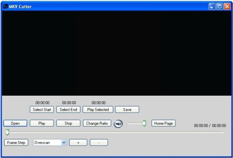 free mkv cutter tool interface