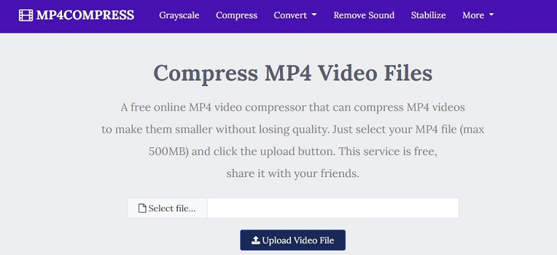 free mp4 compressor mp4compress