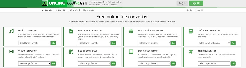 free mp4 compressor onlineconvert