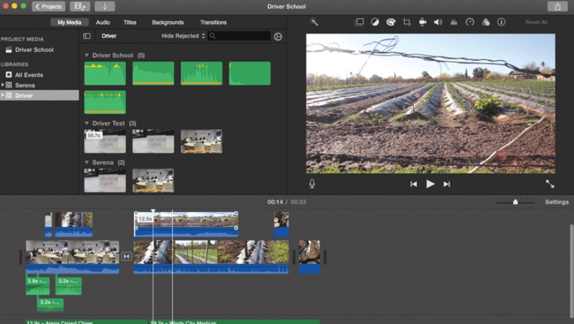 free video editor mac apple imovie interface
