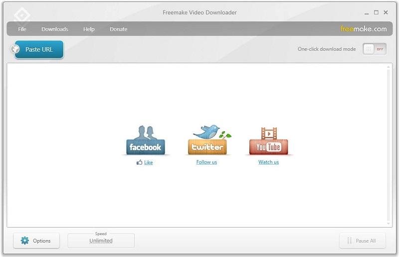 free video rotator freemake interface